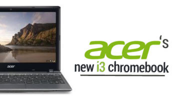 NOUVEAU CHROMEBOOK ACER INTEL CORE I3 !