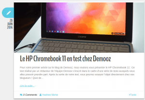 test chromebook Demooz