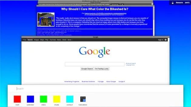 materiel design Chrome OS