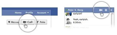 chat vidéo facebook