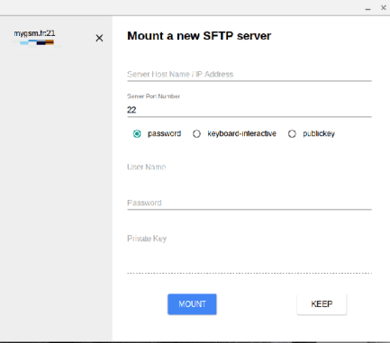 SFTP File System 2