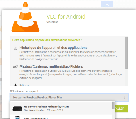 VLC sur Android TV