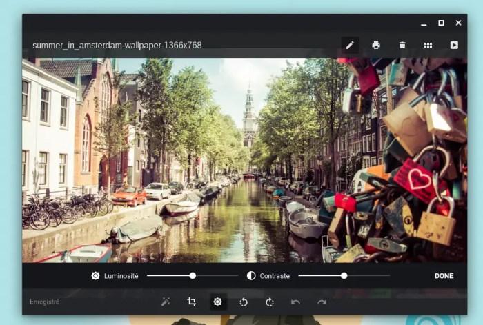 Galerie Chrome OS
