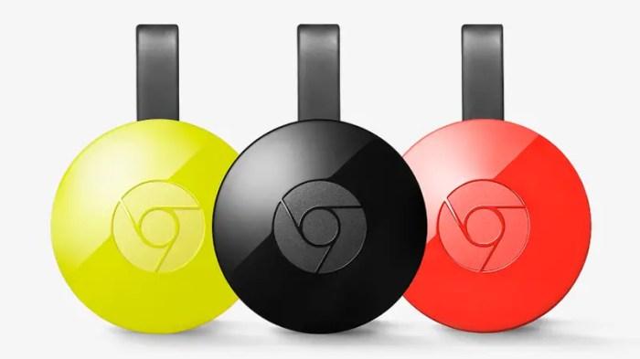 Chromecast de Google (trois)