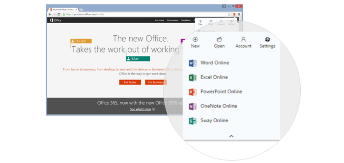 Extension office online Chrome