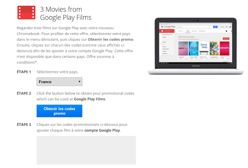 3 films offerts sur Google Play films