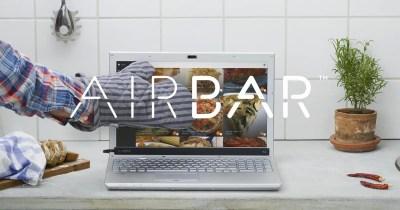 Transformer n'importe quel écran d'ordinateur en écran tactile grâce à Airbar