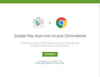 Google Play Store arrive bientôt sur Chrome OS et Chromebook
