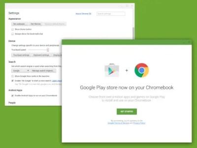 Google confirme l'arrivée du Play Store sur Chrome OS