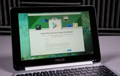 Tous les Chromebooks de 2017 supporteront le Google Play Store