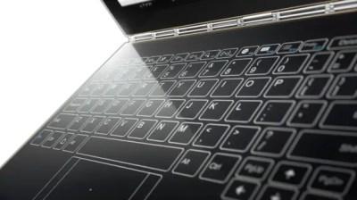 Lenovo annonce des Chromebooks Yoga Book sans clavier physique