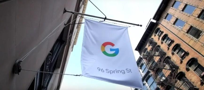 Google ouvre sa première boutique physique