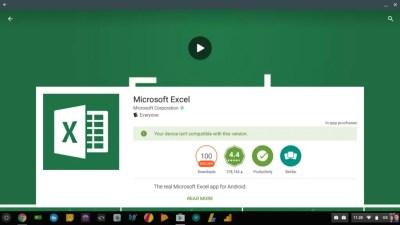 Microsoft Office toujours disponible sur Chrome OS mais sous conditions