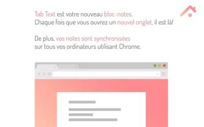 Un bloc note toujours à porter de mains sur Chrome & Chromebook