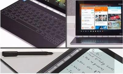 Lenovo confirme lancement du Yoga book sous Chrome OS en 2017