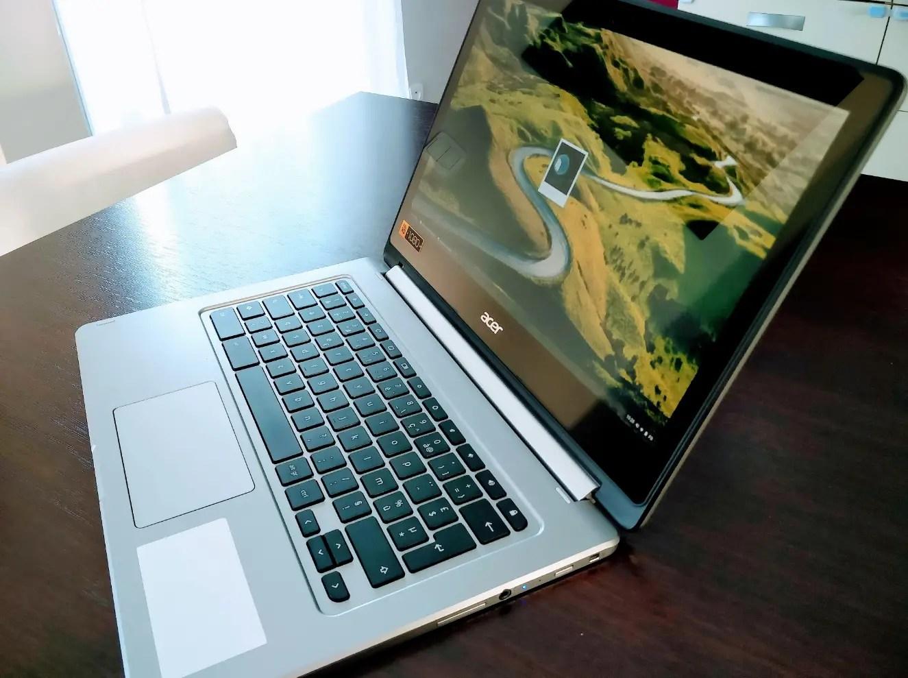 Unboxing: découvrez le Chromebook ACER R13 CB5-312T