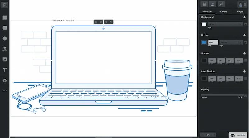 Vectr: Le meilleur éditeur graphique vectoriel pour Chromebook