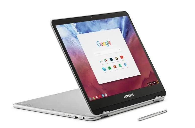 Présentation officielle du Chromebook Plus par Samsung