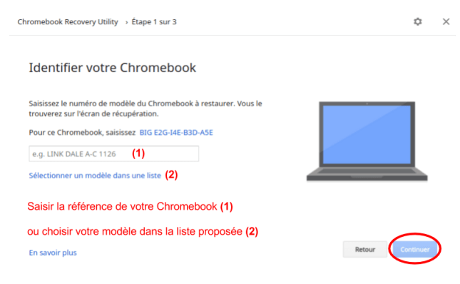 Comment restaurer un Chromebook après un crash système
