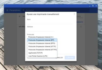 Chrome OS est prêt à imprimer sans le Cloud
