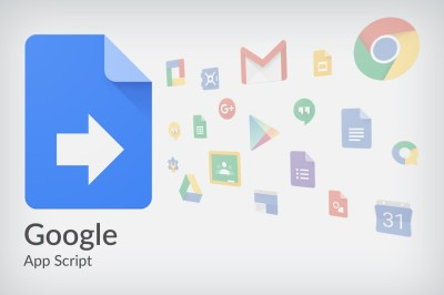 Google App Script appliqué à Google Sheet – Introduction