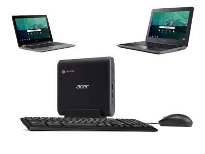Les Cartes SIM et la 4G LTE s'invitent dans les Chromebooks d'ACER