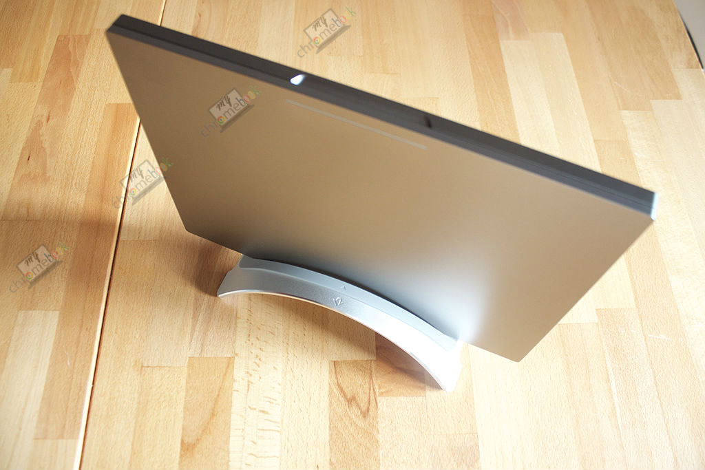 Comment positionner son chromebook à la verticale sur son bureau