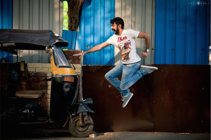 Photographie d'Abhinay Omkar, développeur de l'extension Good Quotes