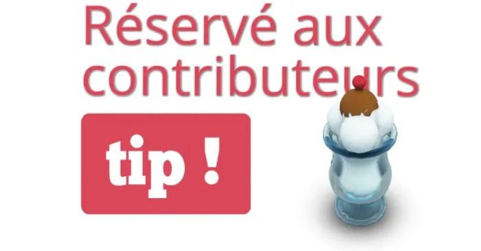 Réservé aux contributeurs