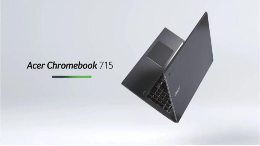 Acer présente sES Chromebook 715  et 714
