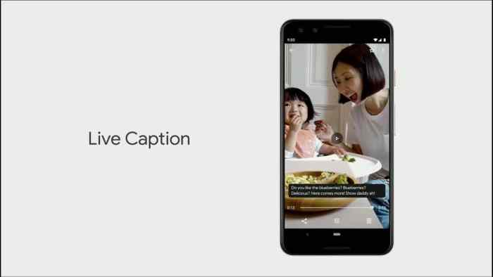 Google lance Live Caption
