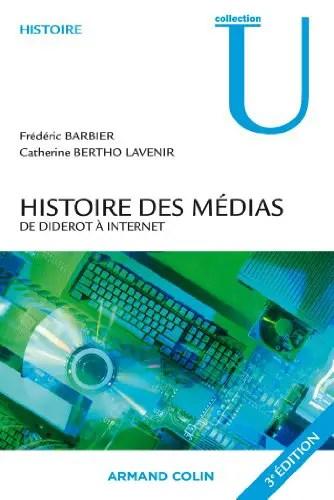 Histoire des médias de Diderot à Internet