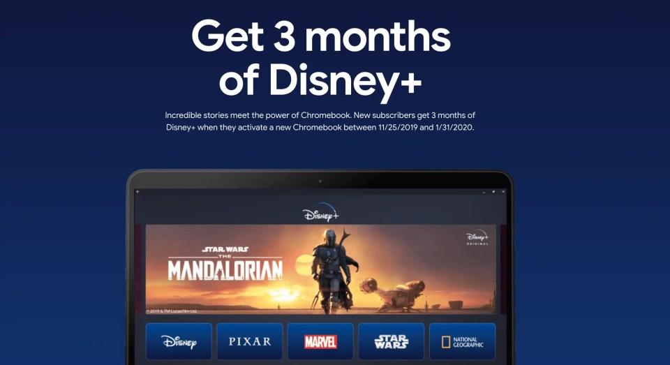 Google offre trois mois de Disney+