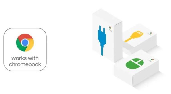 Chrome OS: Le badge Works with Chromebook arrive