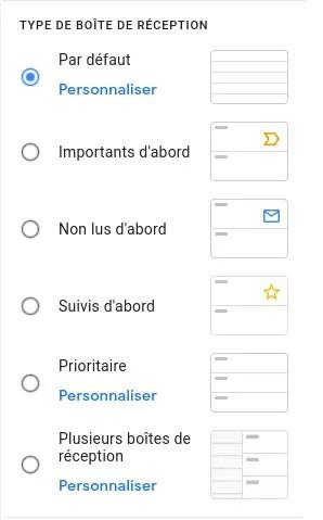 Gmail et la configuration rapide
