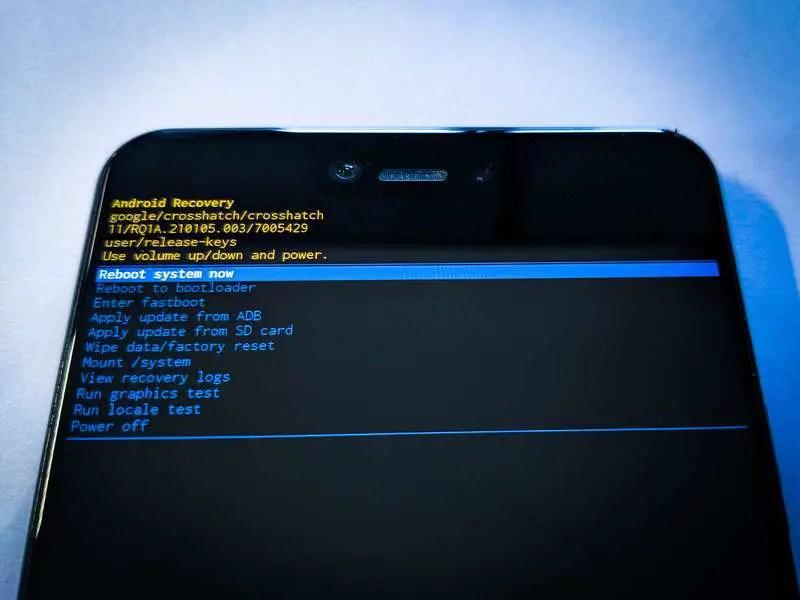 Fenêtre de la seconde partie des écrans lors de l'installation