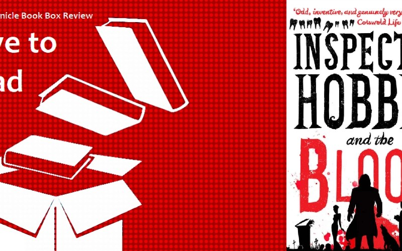 My Chronicle Book Box Inspector Hobbes and the Blood by Wilkie Martin