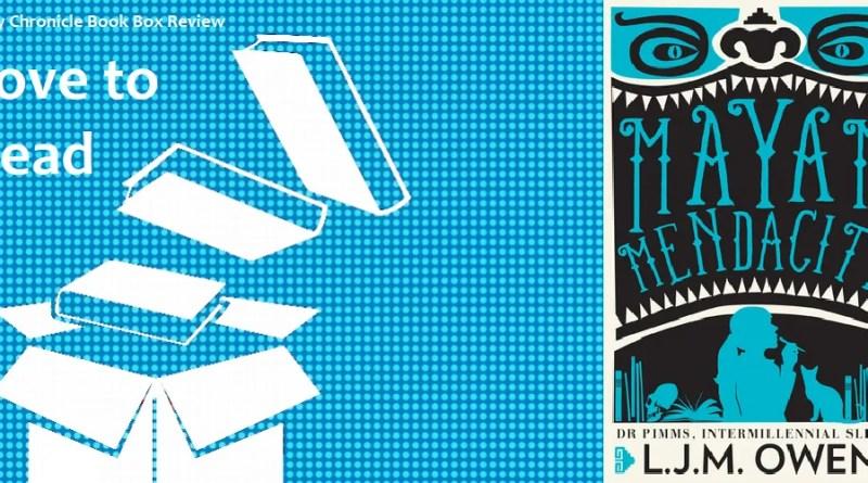 Mayan Mendacity by L.J.M Owen banner