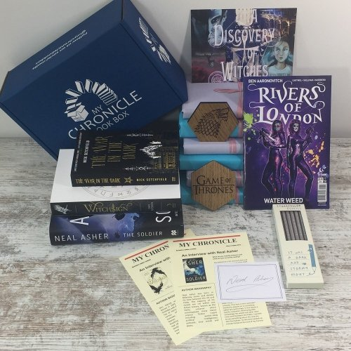 Book Subscription Box Science Fiction and Fantasy - August 18