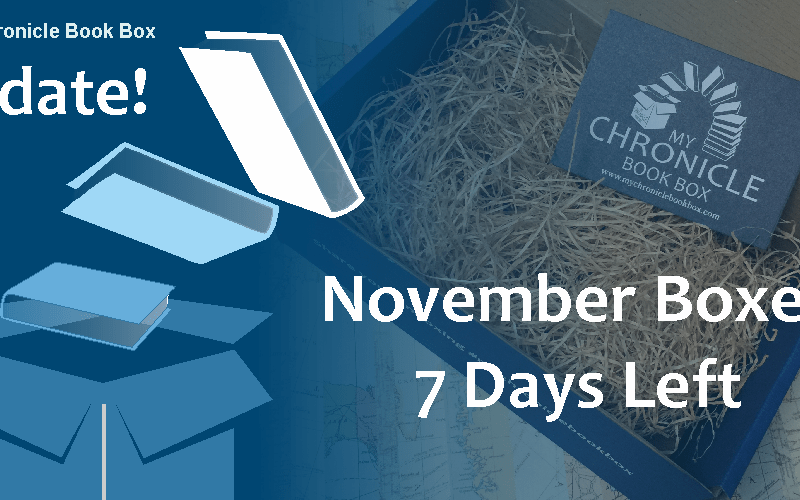 My Chronicle Book Box November 2017 - 7 days left banner