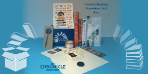 My Chronicle Book Box Crime and Mystery November 2017 Box Web Banner