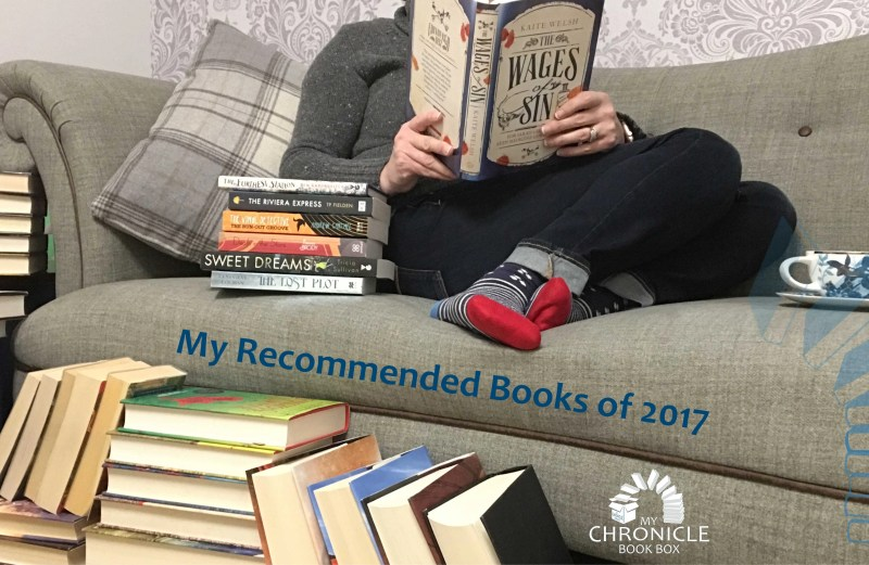 Top Books of 2017 by My Chronicle Book Box Banner