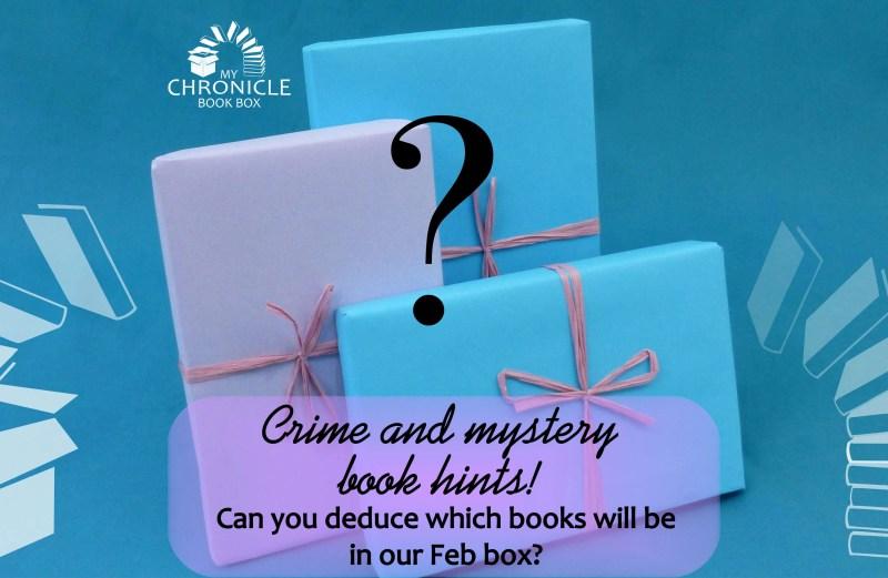 Book hints - crime & mystery box February 2018