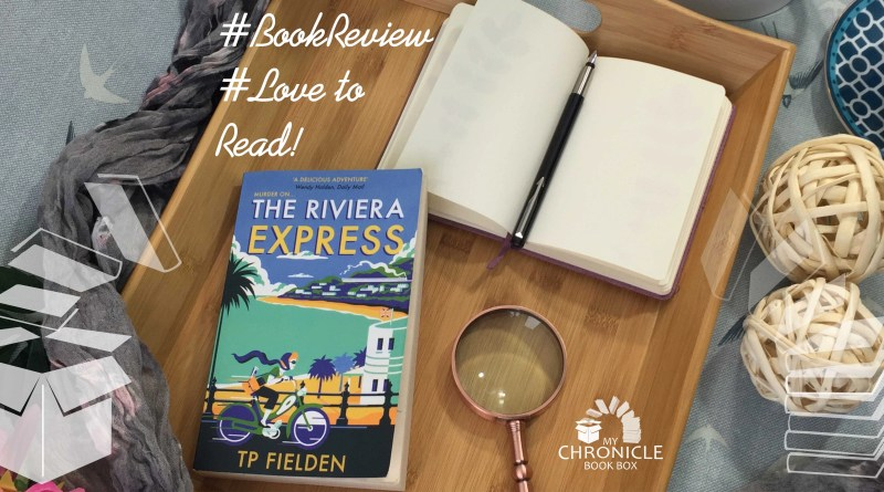 The Riviera by TP Fielden book banner