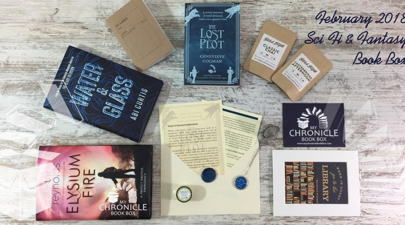 Science Fiction and Fantasy February 2018 Subscription box