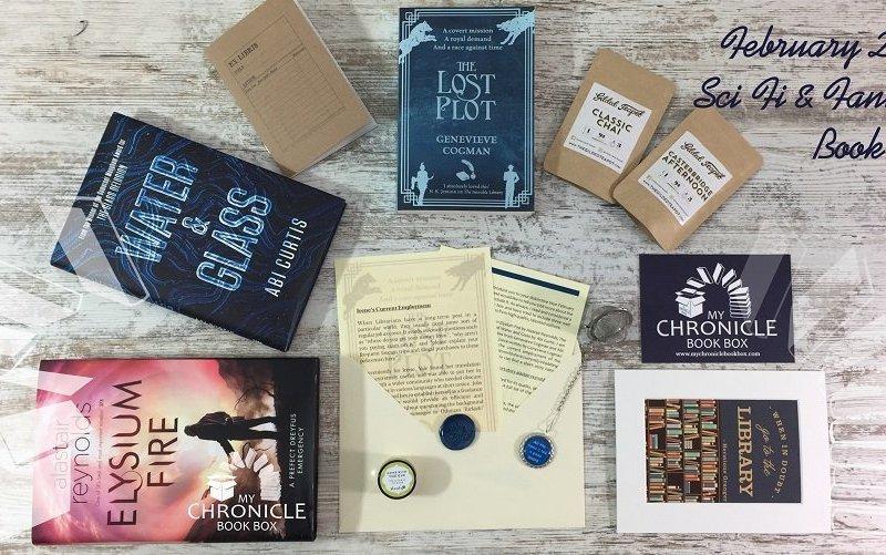 Feb 2018 SFF book box banner