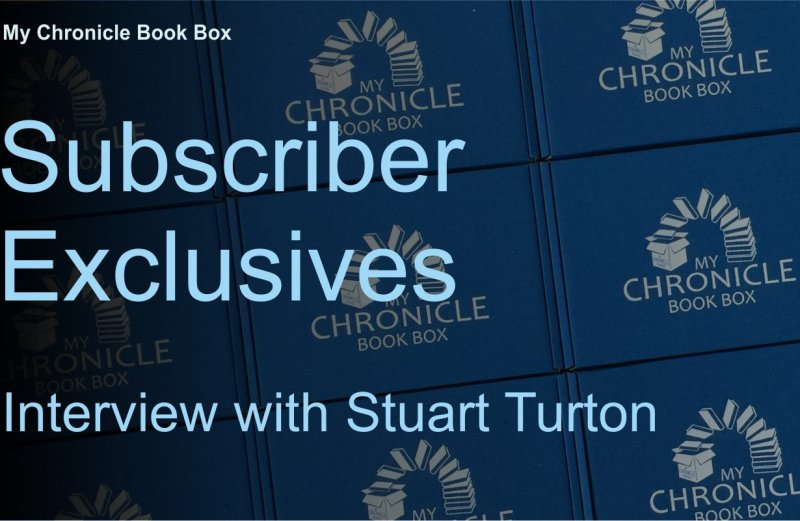 Subscriber Exclusives - Interview with Stuart Turton