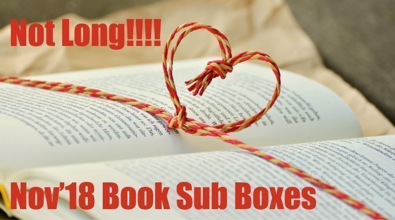 Arriving Soon Nov-18 Book Subscription Box