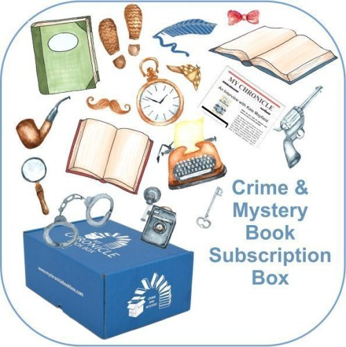 Book Subscription Box Crime and Mystery from My Chronicle Book Box