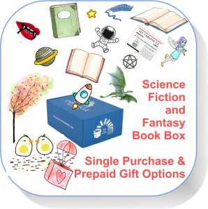 Single purchase and gift Book Box Science Fiction and Fantasy